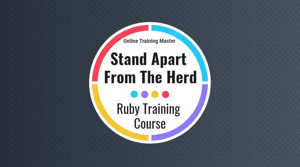ruby training course - online training master