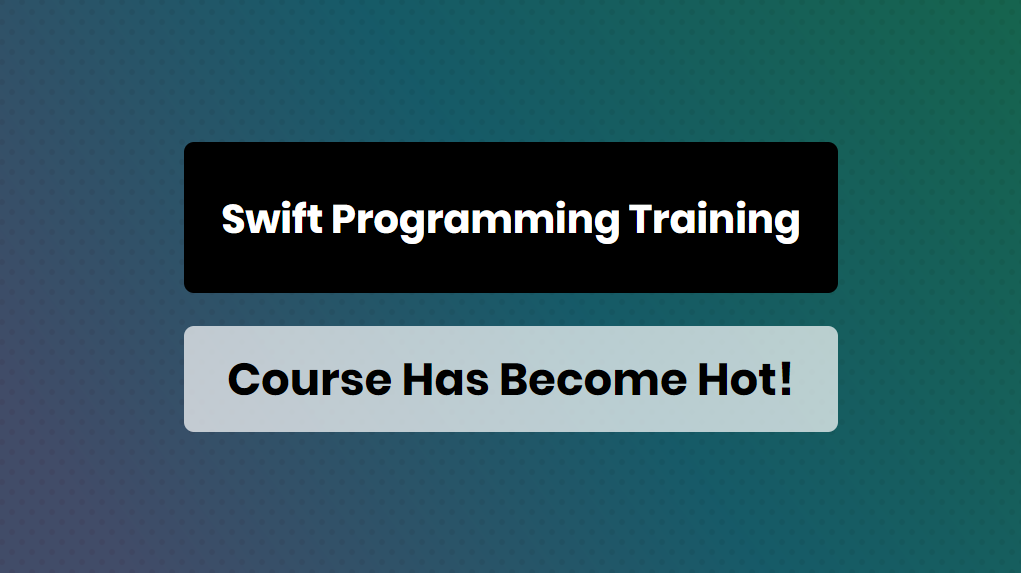 Swift Programming Training Course Has Become Hot - Online Training Master