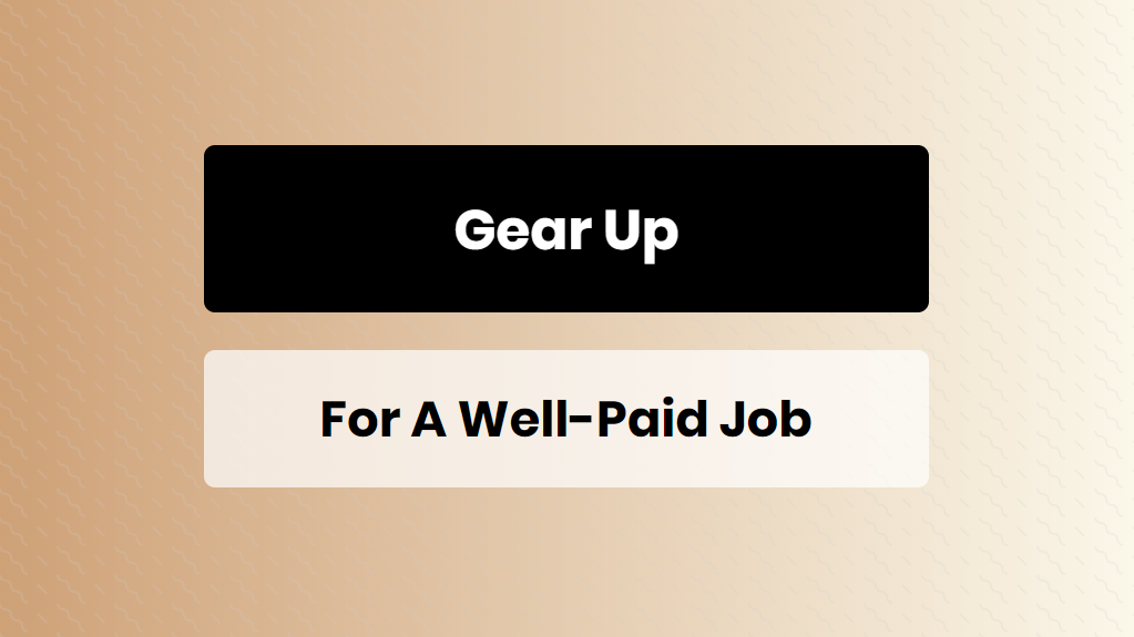 gear up for a well-paid job - online training master
